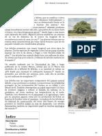 Árbol - Wikipedia, la enciclopedia libre