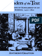 Anthony Grafton - Defenders of the Text_ The Traditions of Scholarship in an Age of Science, 1450-1800-Harvard University Press (1991).pdf