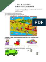 PRIETENII NATURII - FISA DE LUCRU DLC- ECOLOGIE