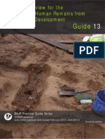 Overview for the Recovery of Human Remains from Sites Under Development
