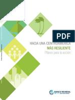 Hacia una Centroamérica más Resiliente