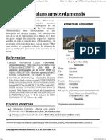 Diomedea exulans amsterdamensis