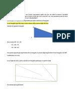 Geometria leproprietàdeitriangoli