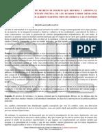 INICIATIVA DE PROYECTO DEL CODIGO PENAL NACIONAL, ARTICULO 73 CPM