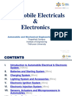 Automobile Electricals and Electronics