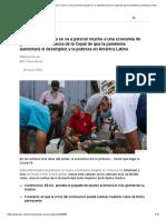 Coronavirus _ _Esto se va a parecer mucho a una economía de guerra__ la advertencia de la Cepal de que la pandemia aumentará el desempleo y la pobreza en América Latina - BBC News Mundo