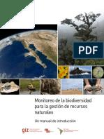 Monitoreo de la biodiversidad para la gestión de recursos naturales