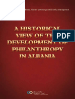 A Historical View of the Development of Philanthropy in Albania - Partners - Albania, Center for Change and Conflict Management