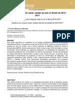 2. MIRANDA, V. M. Surdez com recorte racial estado da arte no Brasil de 20122017