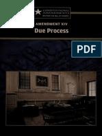 Amendment XIV Due Process