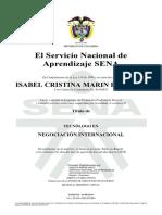 TITULO DE NEGOCIACION INTERNACIONAL