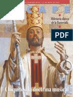 Chiquitanía. La babelia de partituras sacras (La Razón-Escape, 18-05-08, Bolivia)
