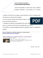 CONSIGNAS TRABAJO 2º  analisis de productos