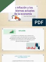 La Inflación y Los Problemas Actuales De La Ecponomia