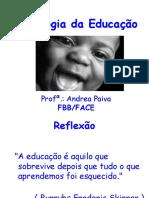 Psicologia da Educação(PPT) ByAndrea P