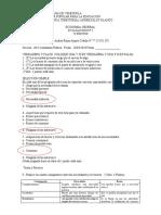 Evaluación Fundamentos de Economia UPTAEB Victor Rojas