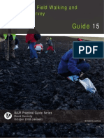 Short Guide to Field Survey, Field Walking and Detecting Survey