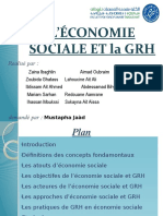 Économie Sociale Et Solidaire Et Grh