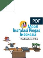 instalasi biogas