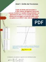 Límites - Matematica