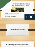 4. Tecnologia en néctares