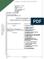 A&A Global Imports v. Rove - Complaint