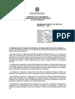 Deliberação CEE n. 376.2020