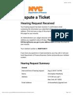 Dispute a Ticket