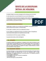 REGLAMENTO DE LA DISCIPLINA DEPORTIVA  DE VÓLEIBOL.docx