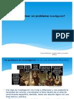 2. Cómo plantear un problema investigación