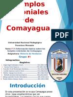 Templos coloniales de Comayagua