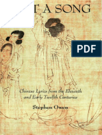 Just a Song Chinese Lyrics from the Eleventh and Early Twelfth Centuries.pdf