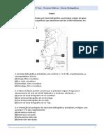 Preparação Examae Nacional Geografia Bacias Hidrigraficas Recursos Hidricos