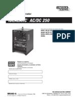 Rx 250 Manual