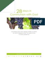 28 Days in Communion & God - Gavin Anthony