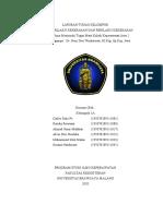 Laporan PK & RPK Kelompok 1A