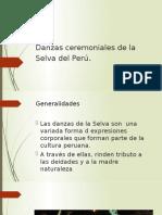 Danzas ceremoniales de la Selva del Perú 2