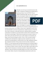 Artículo arte y espiritualidad en casa (segundo parcial Lorena Hernández, Camila Díaz)
