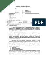 PLAN  DE TUTORIAL DE  1 SEC.