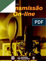 MANUAL DE TRANSMISSAO ONLINE JMN3