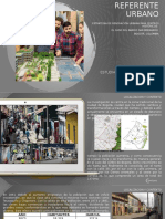 Análisis de referente urbano