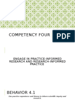 competency four eport