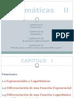 Presentación - Ecuaciones Diferenciales
