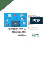 Redacción para la Comunicación Externa D. Méndez