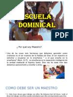 escuela dominical presentacion