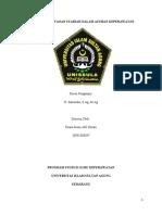 MAKALAH PELAYANAN SYARIAH DALAM ASUHAN KEPERAWATAN ( DIANA SISMI 30901800047)