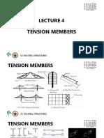 LEC 4 TENSION MEMBERS