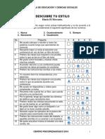 Recurso #9-UdIII-Cuestionario-Descubre Tu Estilo