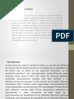 Clasificación de las tasas de interes (1)
