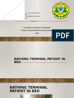 Bathing terminal patient in bed.pptx